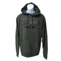 Musky Hunter Camo Logo Hoodies - Green