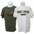 Musky Hunter Camo Logo T's
