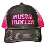Musky Hunter Logo Caps - Neon