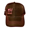 MH Logo Caps - Black/Pink
