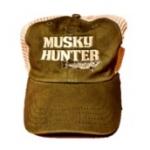 Musky Hunter Logo Caps