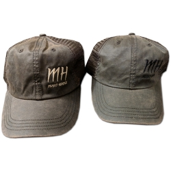 MH Logo Wax Cloth Caps