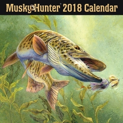 2018 Musky Hunter Calendar