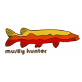 Musky Hunter Boat Decals