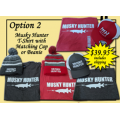 Father's Day Special - TShirt & Hat Combo - Gray