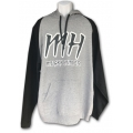 """MH"" Logo Hoodies - Black"