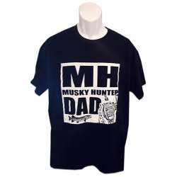 "MH ""Musky Hunter Dad"" T - Size Large"