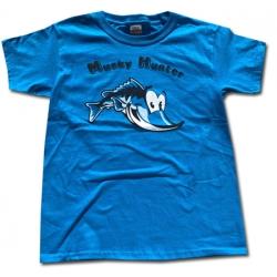Kids Musky Hunter T - Blue - Size Small