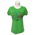 Ladies' Rainbow T-Shirt - Apple