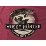 """""""Red Sky Musky"""" T-Shirt - Size Large"""